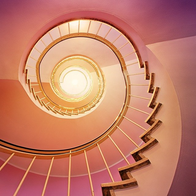 Your personal growth journey seen as a staircase
